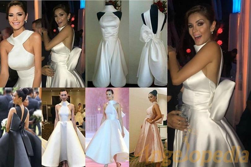 Laura Spoya Copies Mark Garner S Design For Her Wedding Dress