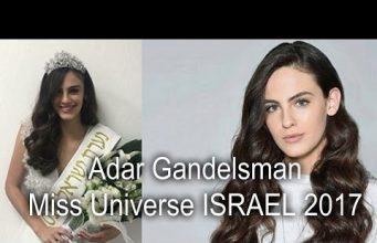 Miss Universe Israel 2017 is Adar Gandelsman