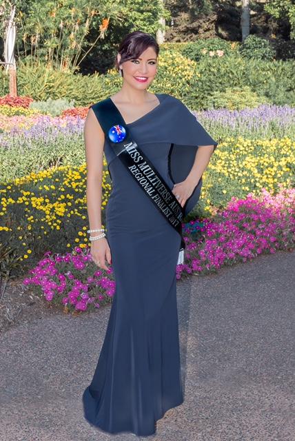 Emily Aoki - Miss Multiverse Australia Regional Finalist