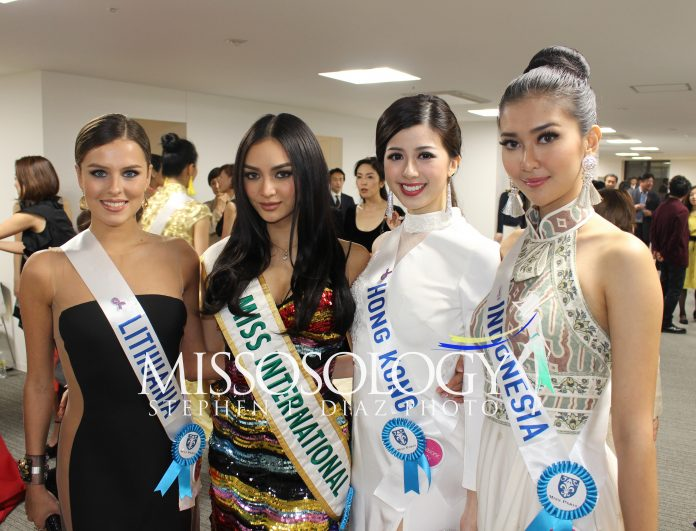 pageantfame.comdb017 IMG 3718 696x531 f29c276fc0f92825cfd5f22d28cc86b7274e4476 - Who stood out during a Miss International 2017 acquire party?