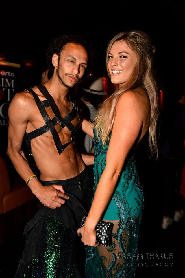 Gabrielle Keaton and Tom Gay at the Maxim Hot 100 Party