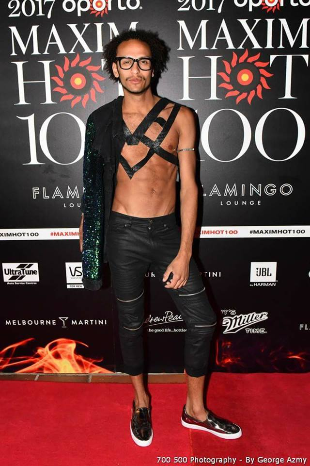 Tom Gay at the Maxim Hot 100 Party