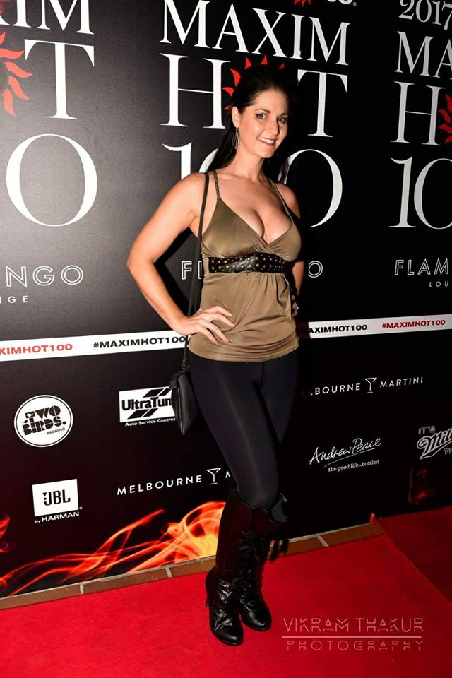 Yolandi Franken at the Maxim Hot 100 Party
