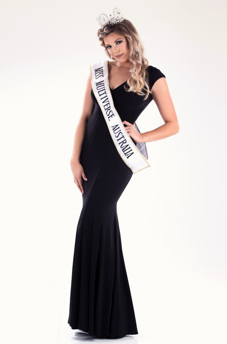 Gabrielle Keaton, Miss Multiverse Australia 2017Gabrielle Keaton, Miss Multiverse Australia 2017