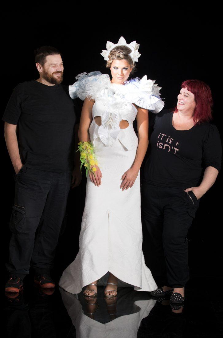 Dress Creators, Erica and Zoran