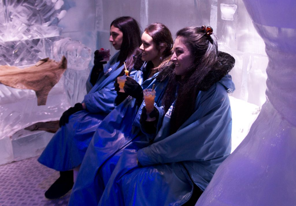 Melbourne Ice Bar Cocktails