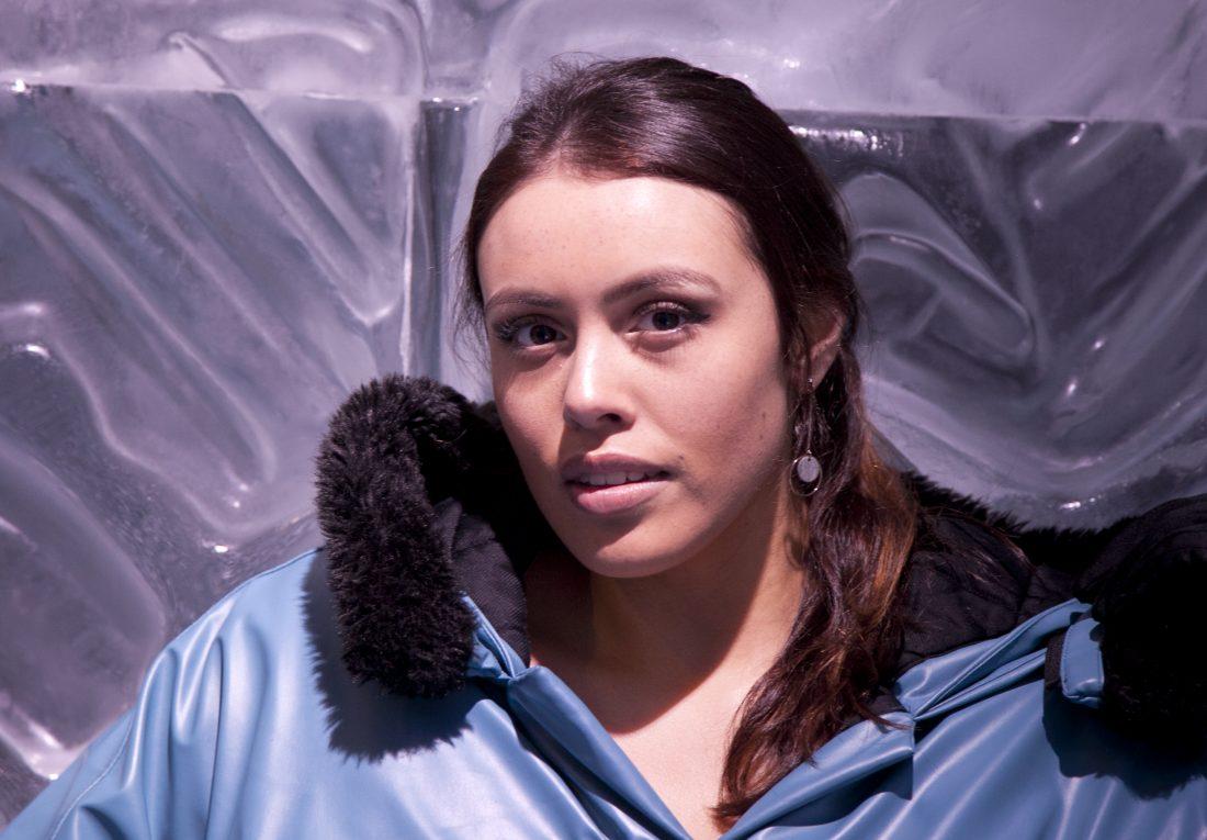 Enya McKernon at Ice Bar Melbourne