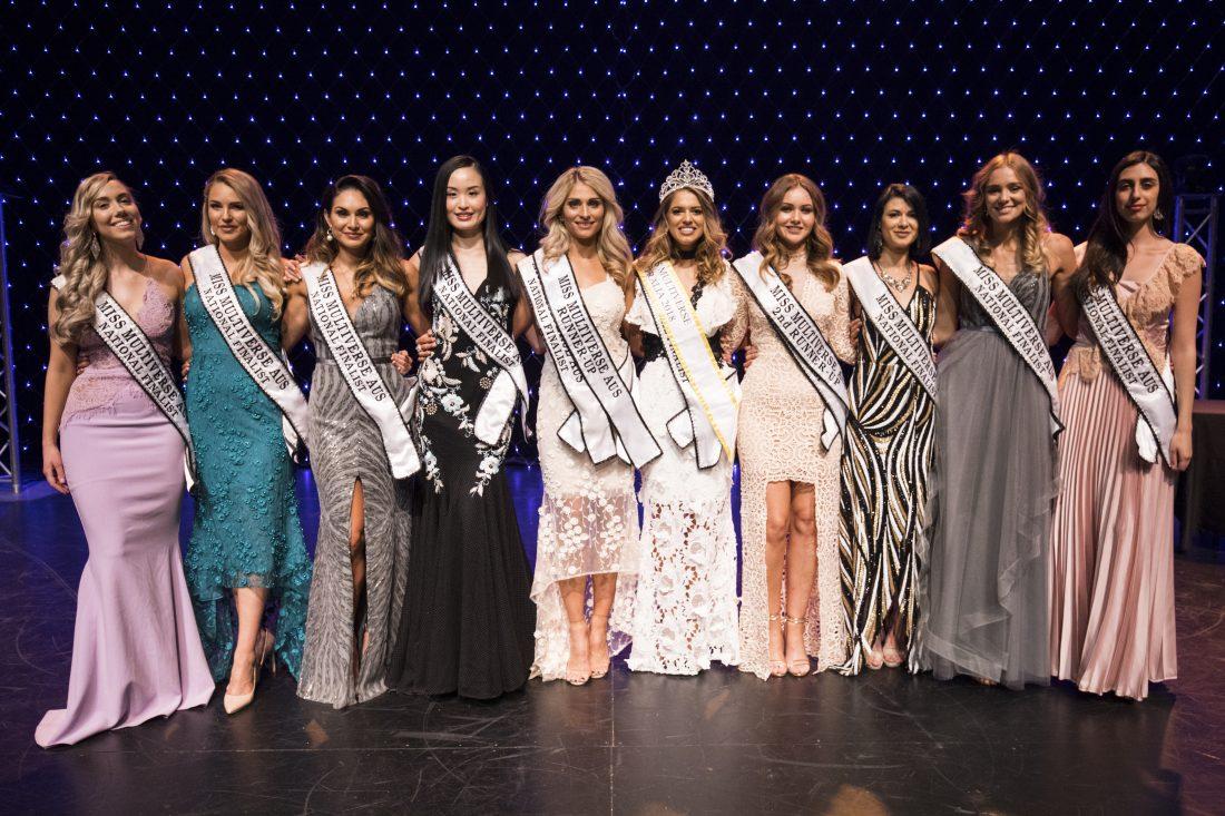 Miss Multiverse AUS - Top 10